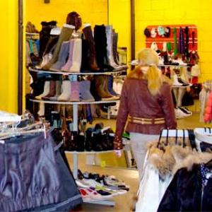 Магазины одежды и обуви Изобильного
